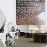 """Exhibition Design for  """"Architekturteilchen"""""""