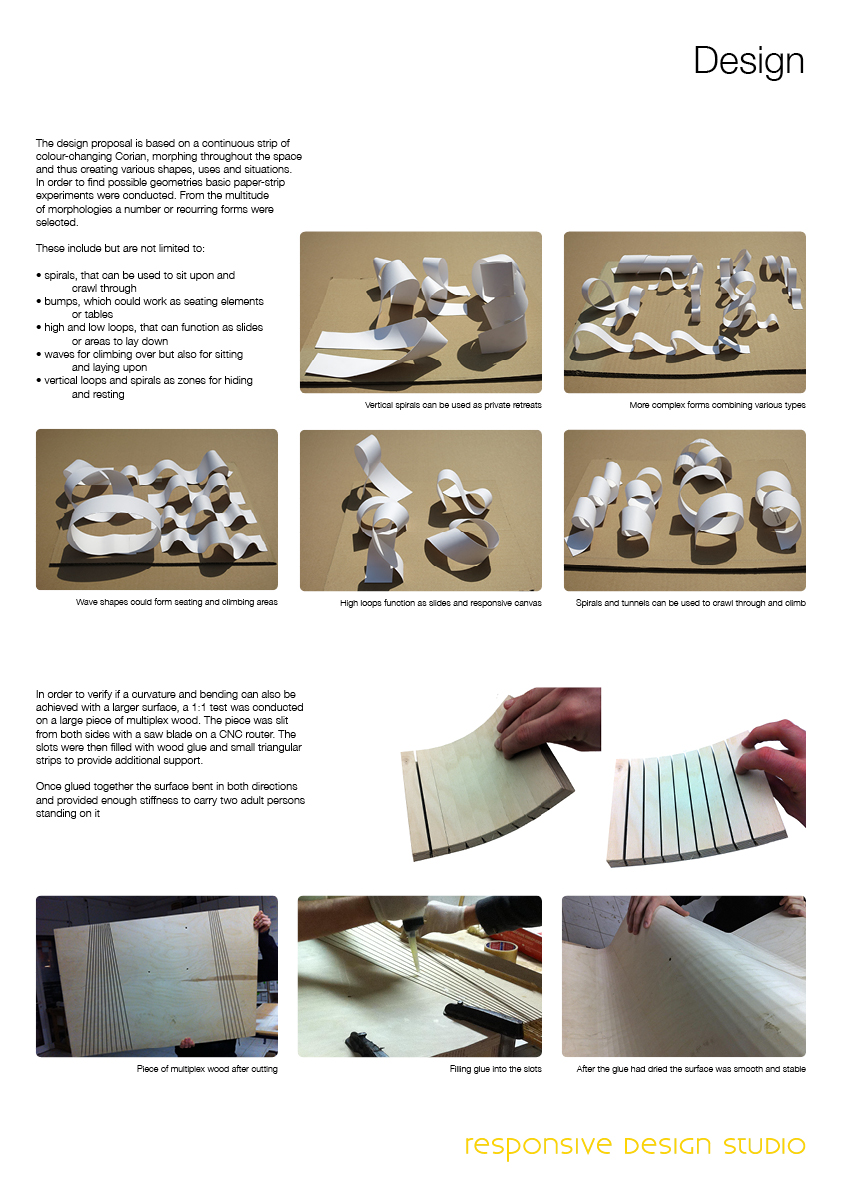 Chameleon corian competition entry responsive design studio for Corian competitors