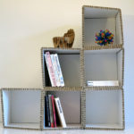 Honeycomb Cardboard Shelf